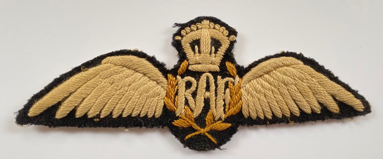 RAF Interwar North West Frontier Style Pilots Wings