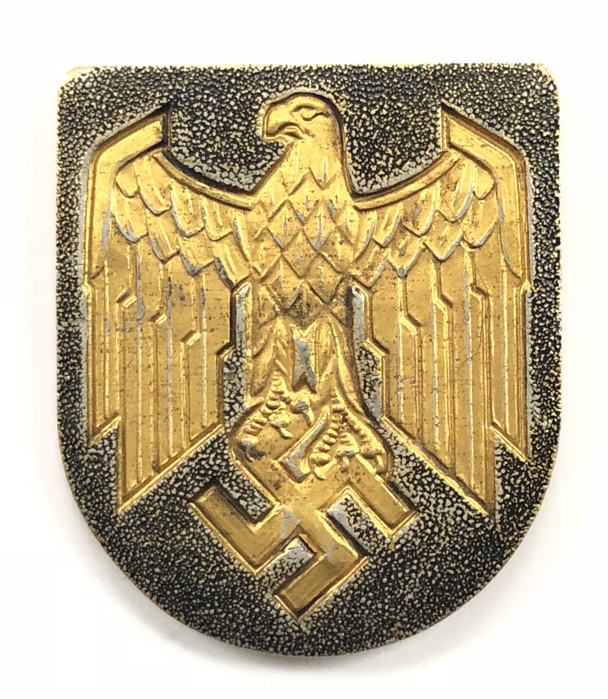 WW2 German Kriegsmarine Tropical Helmet Eagle.