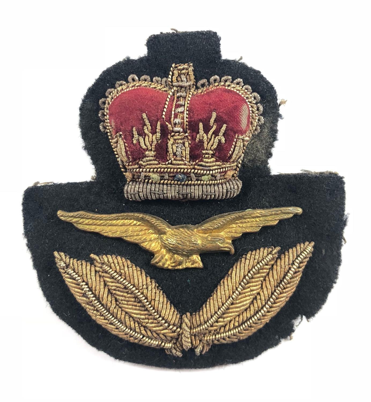RAF Officer's Cap Badge.