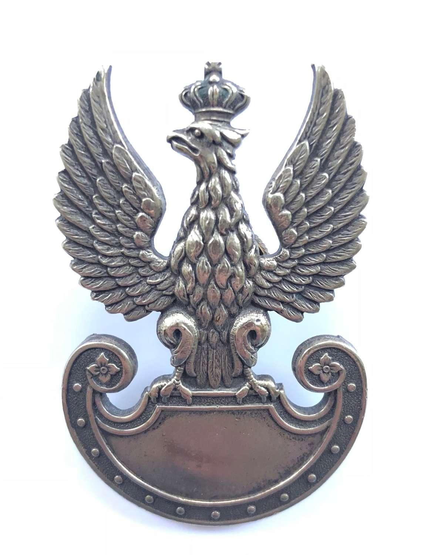 WW2 Period Polish Army Cap Badge.