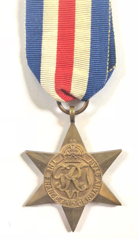 WW2 France & Germany Star.