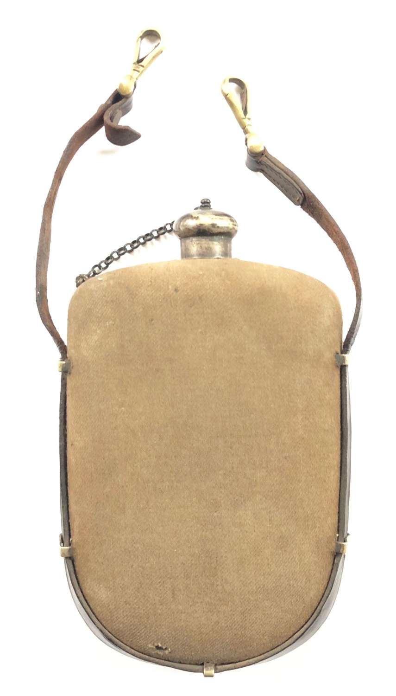 WW1 Period British Officer's Water Bottle & Strap.