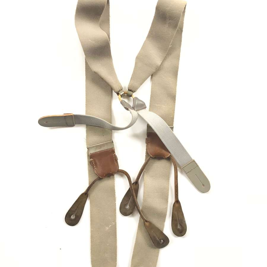 WW1 / WW2 Pattern Officer's Private Purchase Braces.