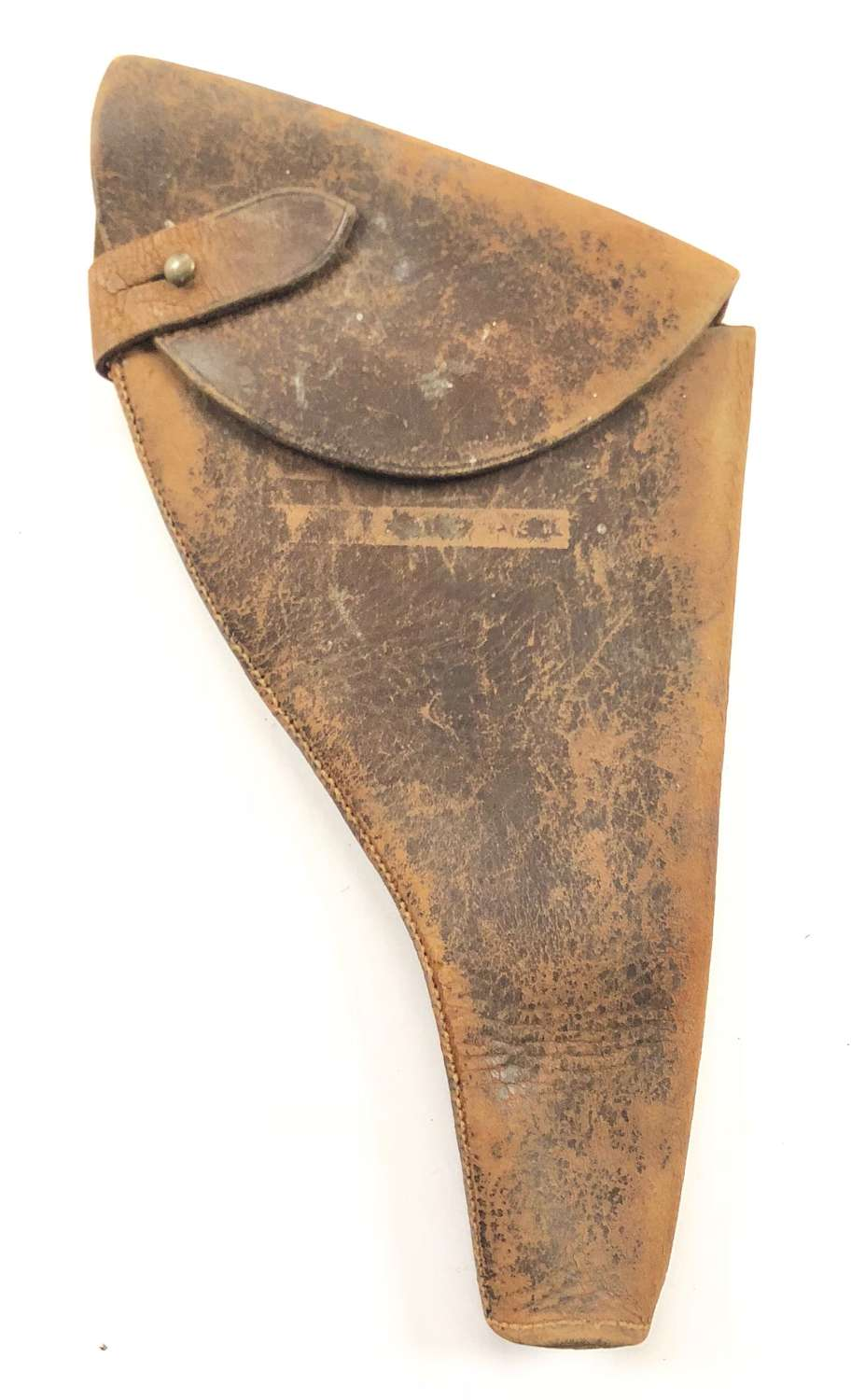 WW1 Period Brown Leather Pistol Holster.