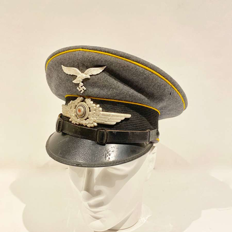 WW2 Battle of Britain Period Luftwaffe NCO's Flight Section Peaked C