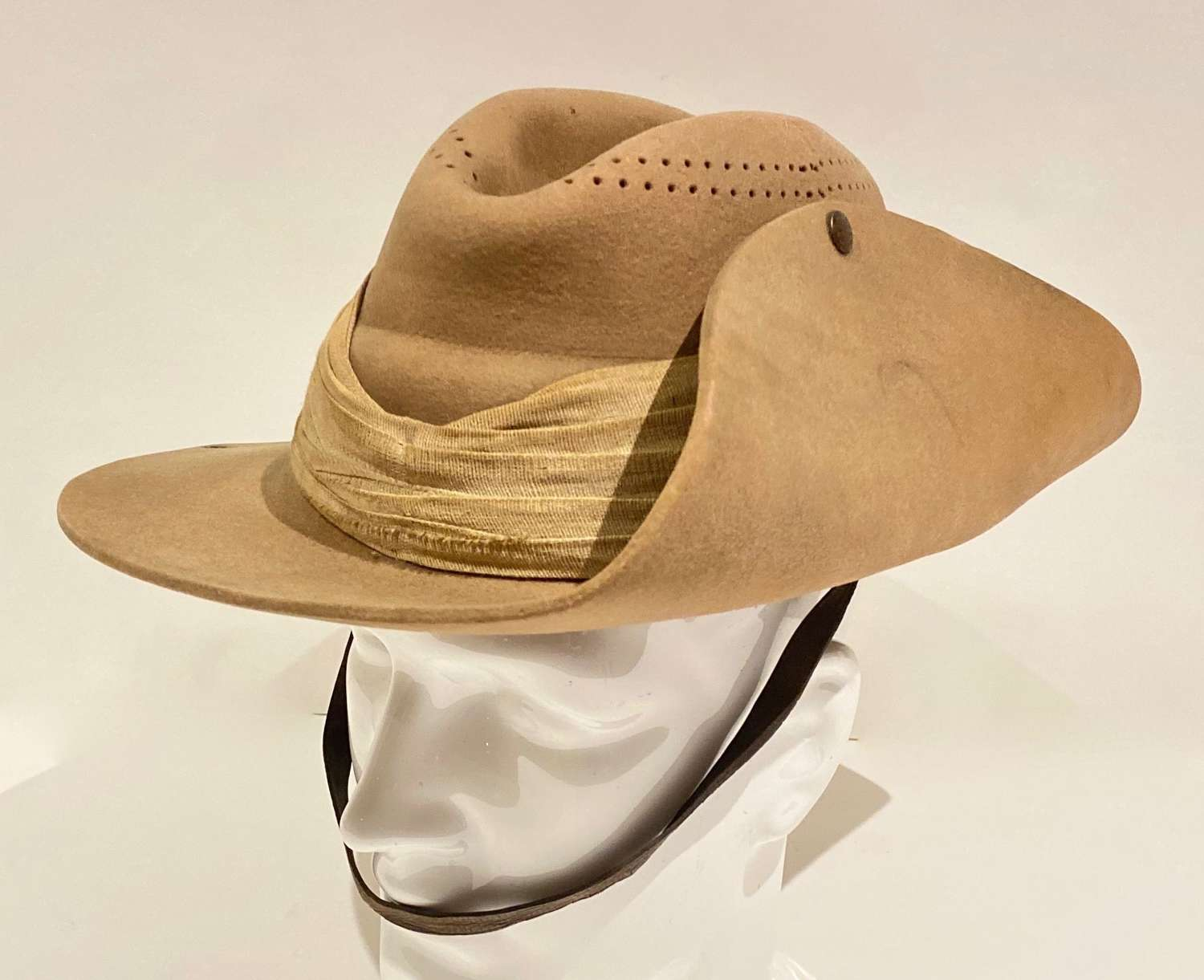 Boer War Imperial Yeomanry, Mounted Infantry Slouch Hat.