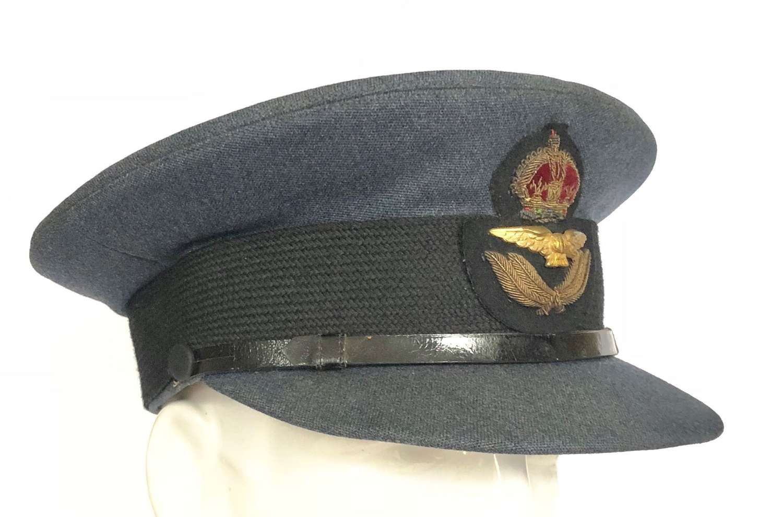 WW2 Period RAF Officer's Cap by Burberry's.