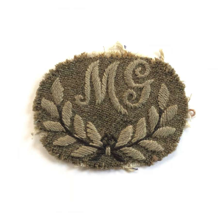 WW1 Period British Machine Gunners Trade Badge.