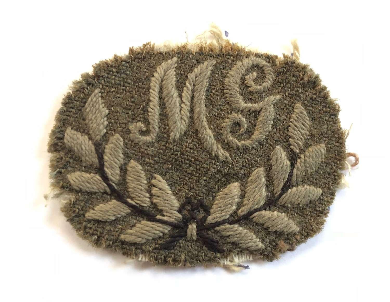 WW1 Period British Machine Gunners Trade Badge.