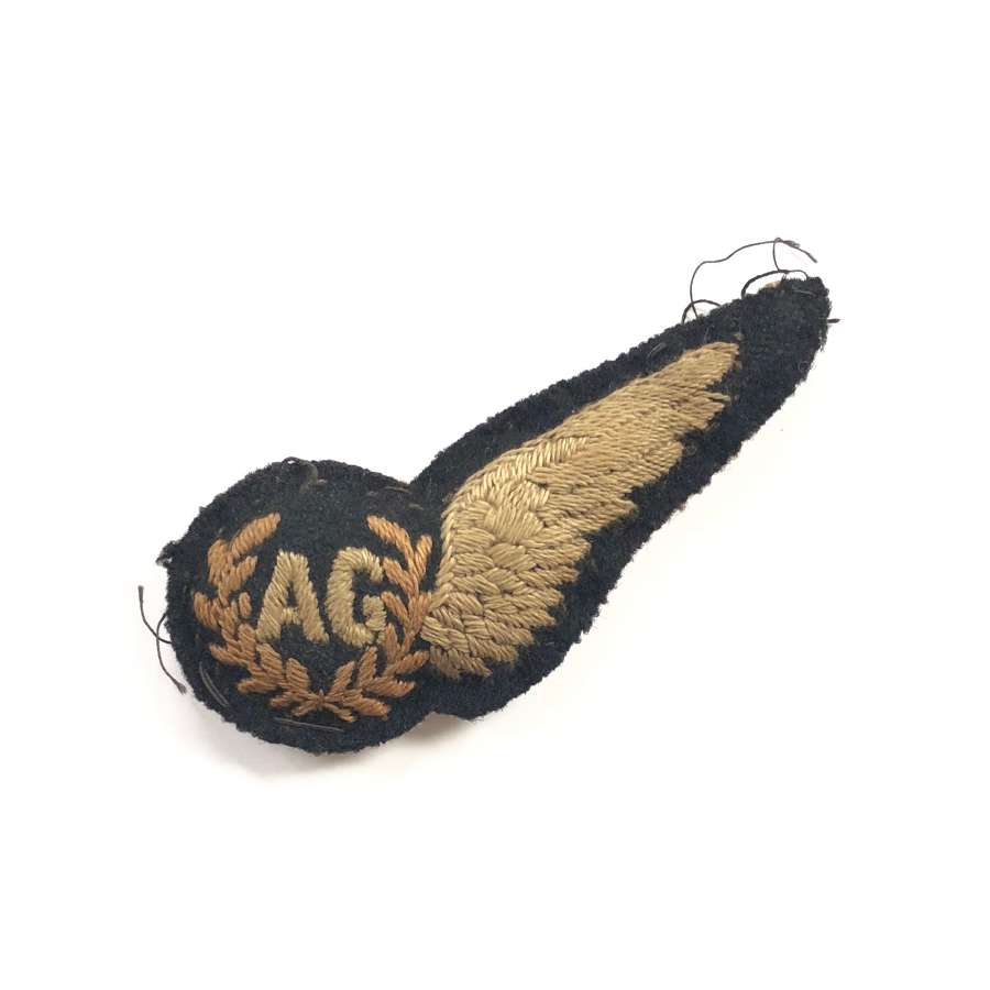 WW2 RAF Air Gunners Brevet Badge.