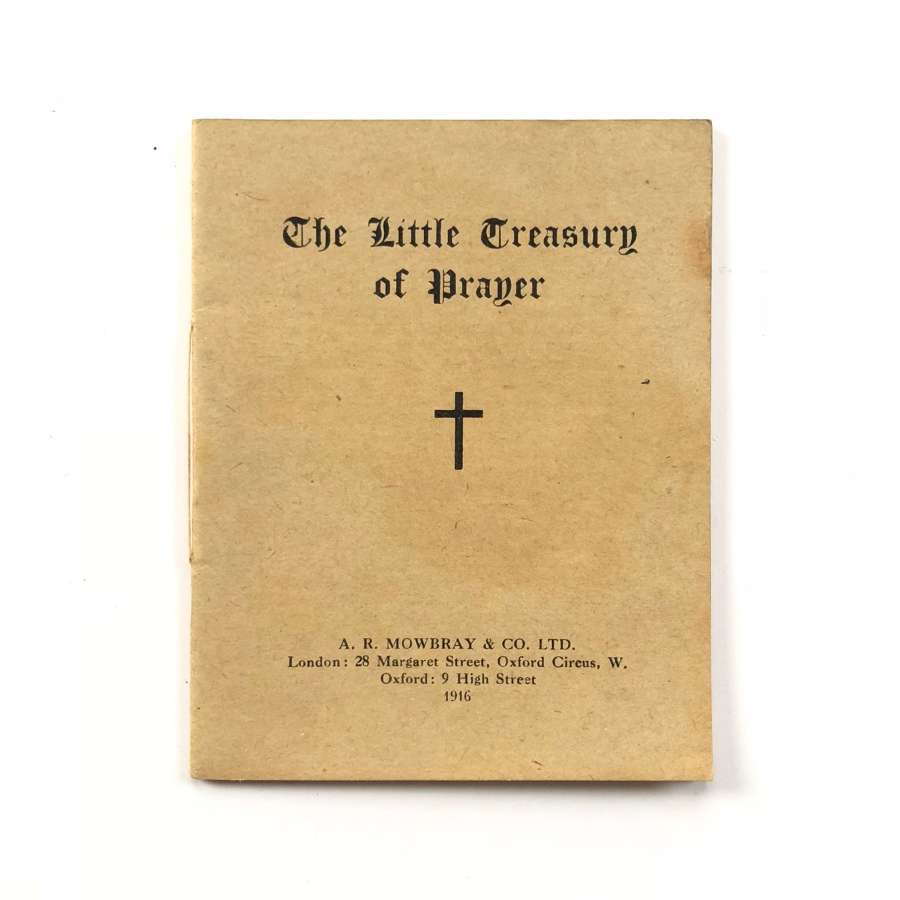 WW1 British Soldiers Comfort Prayer Booklet 1916
