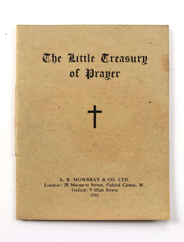 WW1 British Soldiers Comfort Prayer Booklet 1916