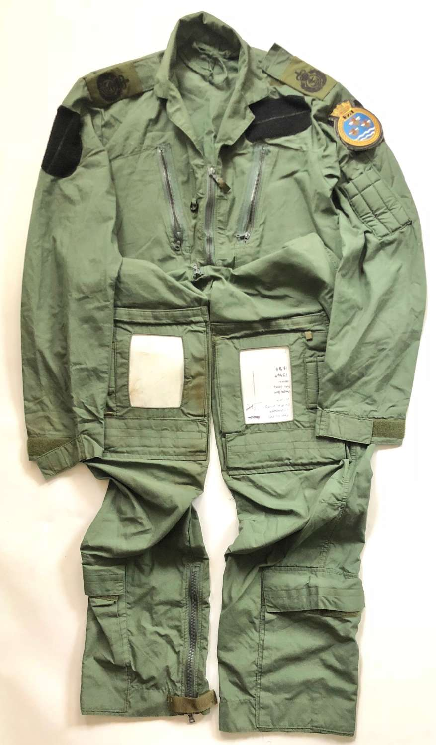 Royal Navy 771 Naval Air Squadron Aircrew MK16A Flying Suit.
