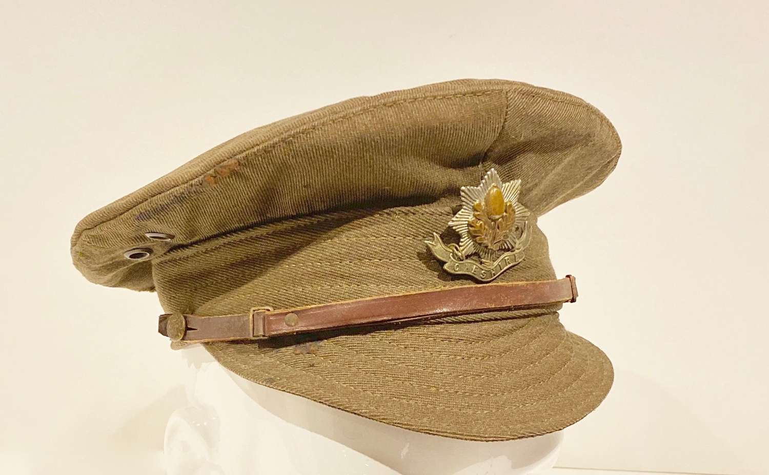 WW1 Cheshire Regiment 1918 Denim Trench Cap.