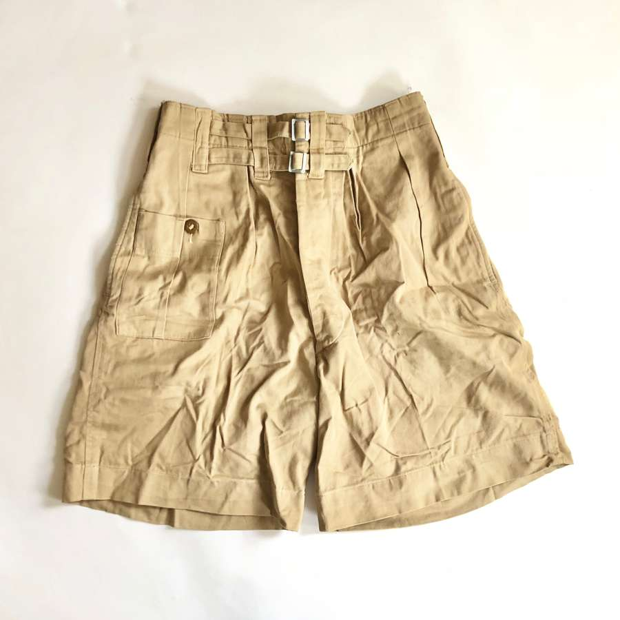 WW2 Period British Army 1941 Pattern  Issue KD Shorts