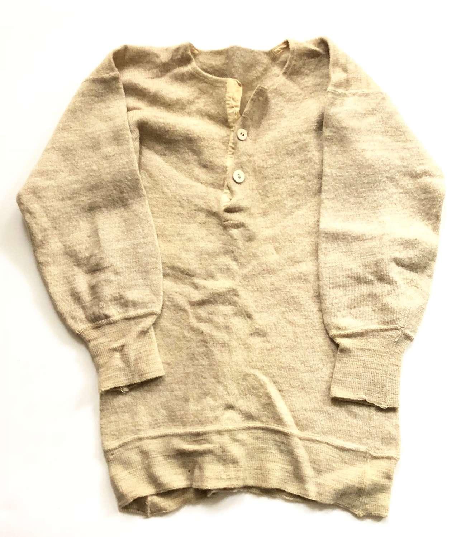 WW2 Period British Army Wool Vest Jumper.