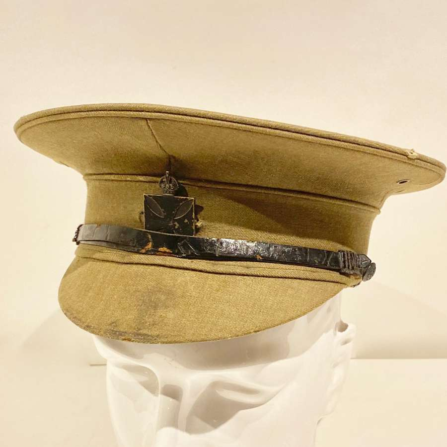 WW1 Royal Army Chaplains Depart Historically Important Attributed Cap.