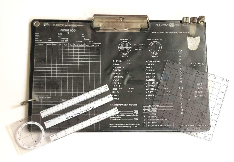 RAF / Fleet Air Arm Cold War Pattern Aircrew Flight Board