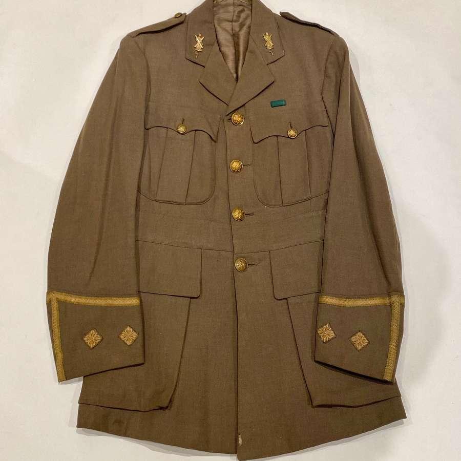 WW1 Black Watch Highland Cyclist Battalion Officer's Cuff Rank Tunic