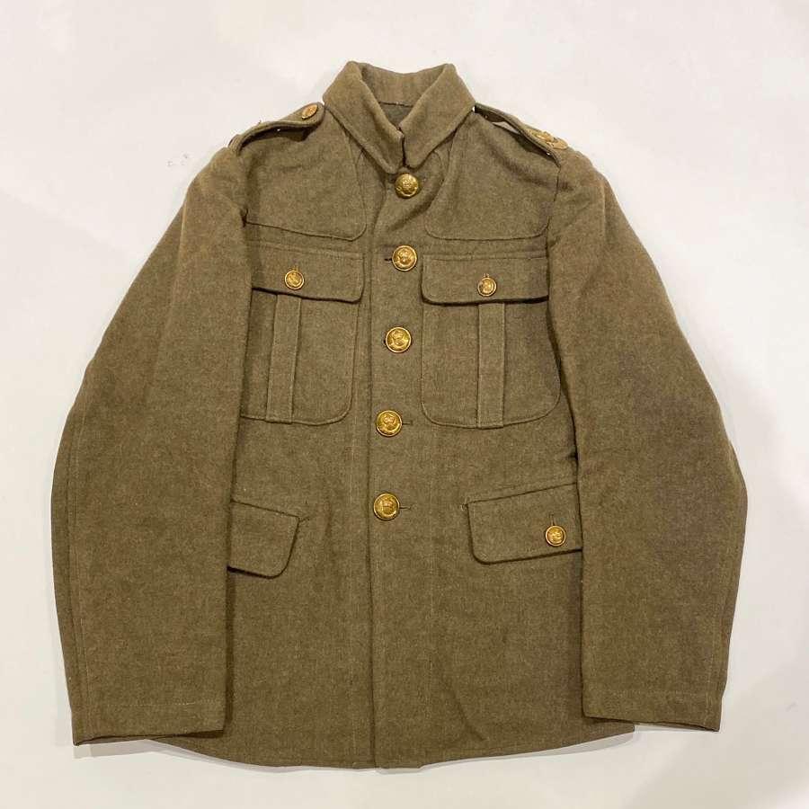 WW1 1902 Durham Light Infantry Other Rank's Tunic.