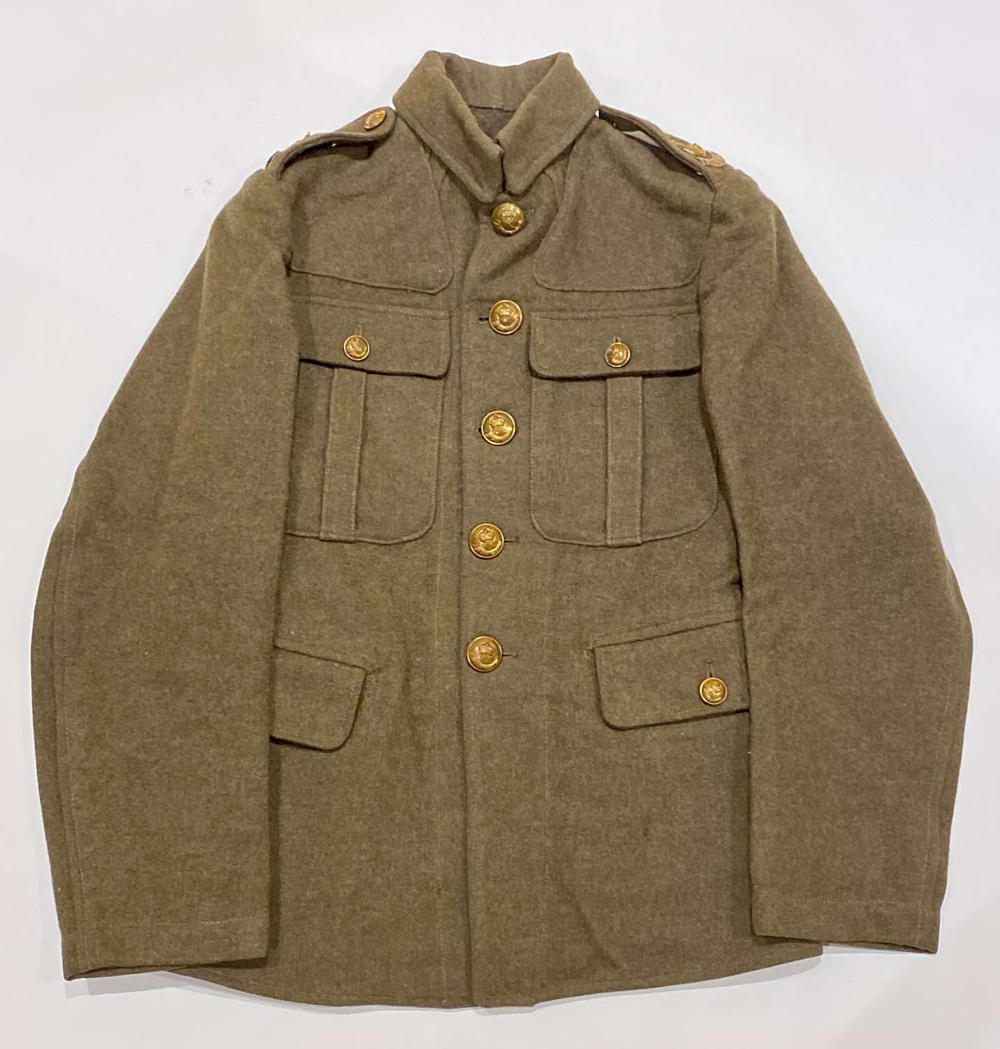 WW1 1902 Durham Light Infantry Other Rank's Tunic.