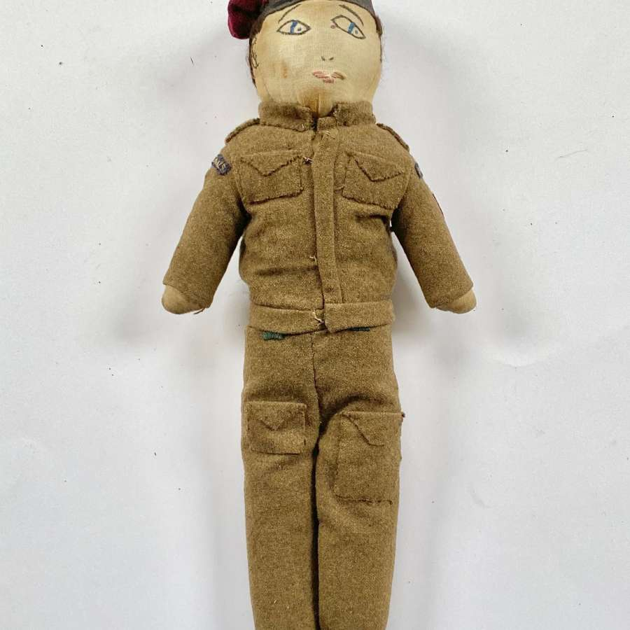 "WW2 ""Para Pete"" Airborne Signals Home Front Doll."
