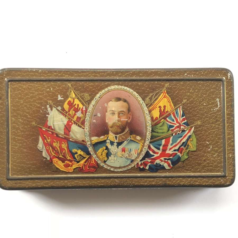 WW1 1915 Rowntree & Co. Ltd Gift to the Troops Tin.