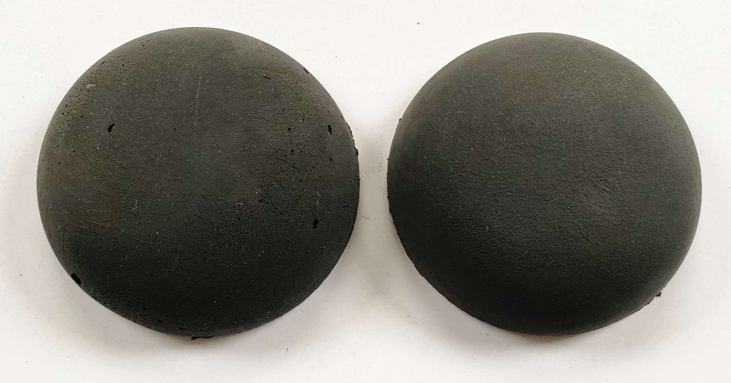 WW2 RCAF / RAF B Type & Navy C Type Flying Helmet Rubber Cushions.