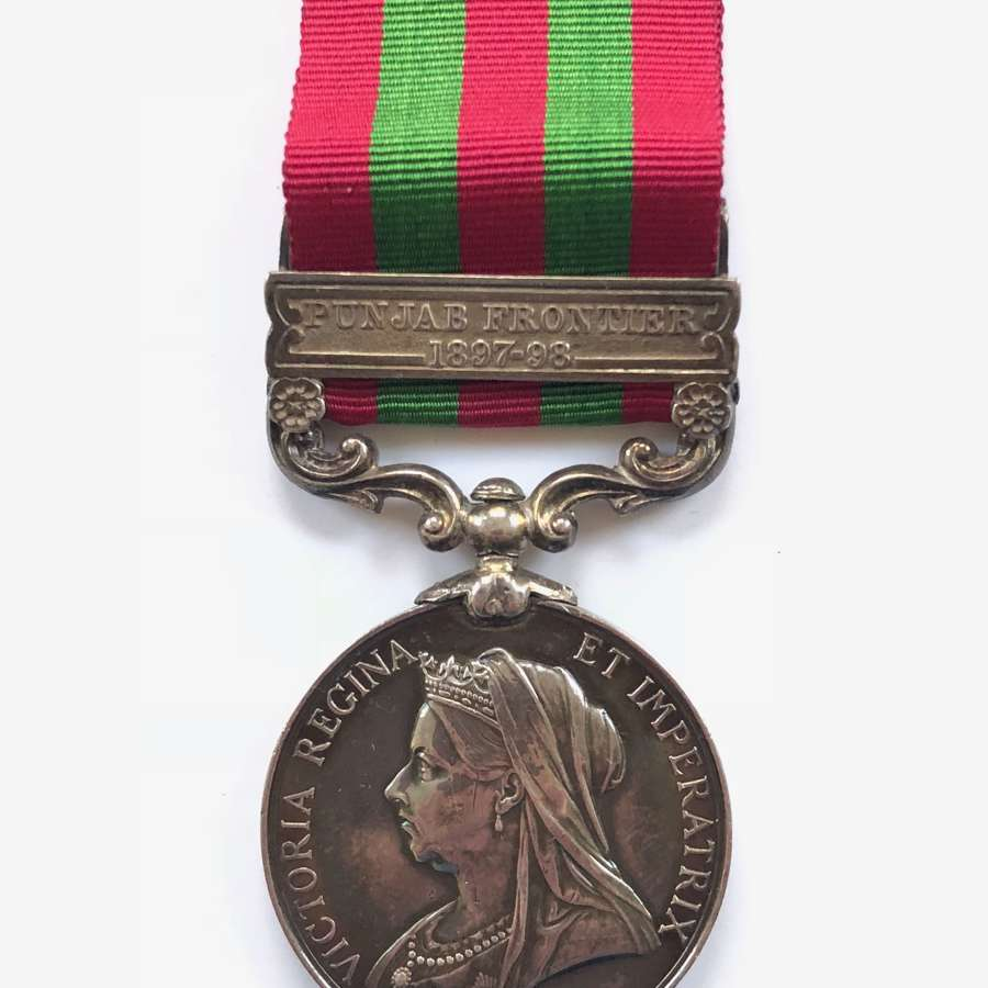 3rd Bn Rifle Brigade India General Service Medal.