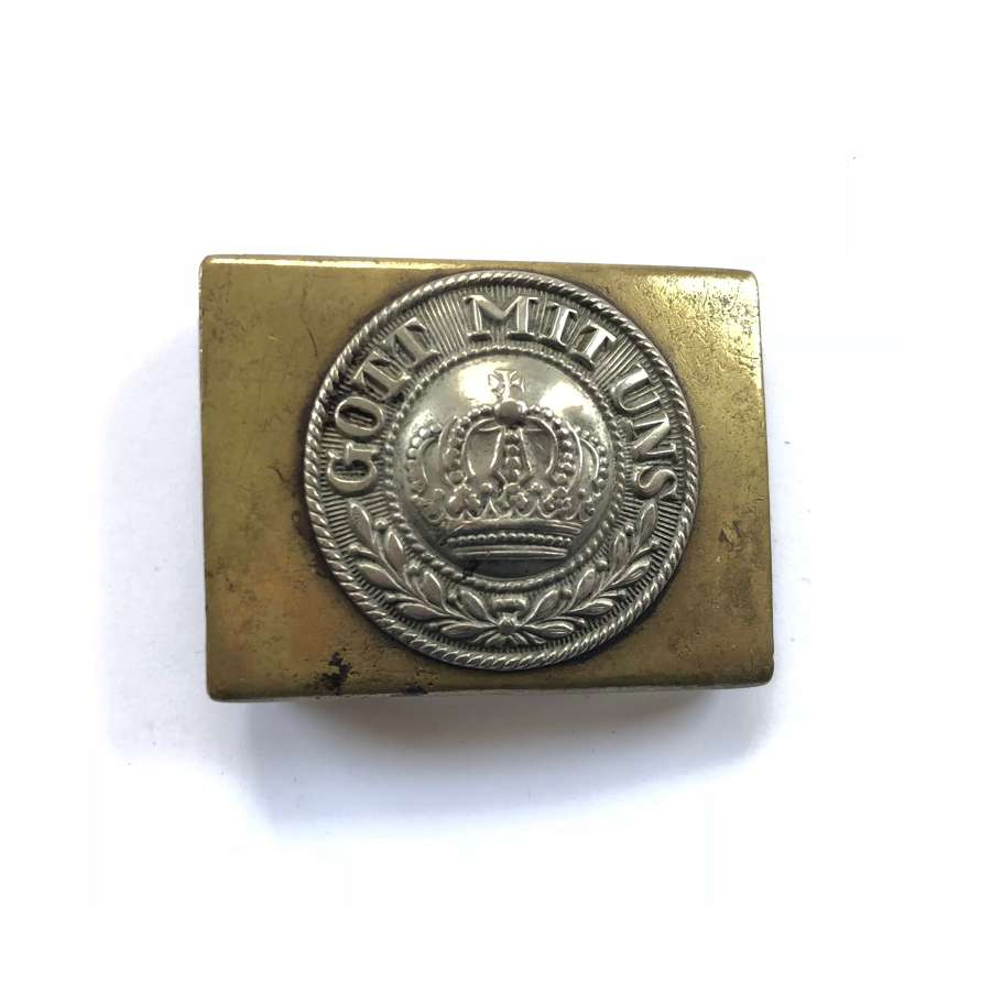 WW1 Imperial German Prussian Belt Buckle.