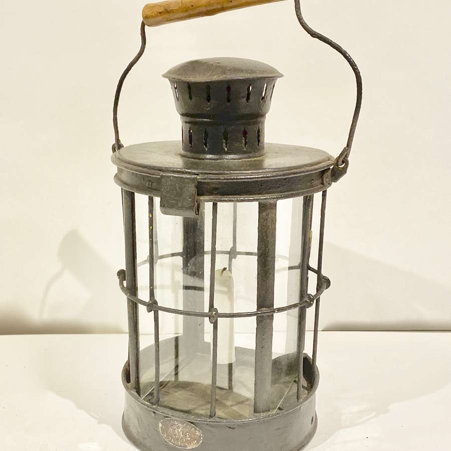 WW1 1916 Dated British Trench Lantern.