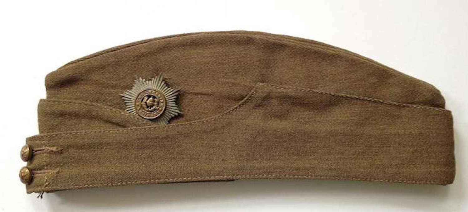 WW2 Period Cheshire Regiment Other Ranks Side Cap