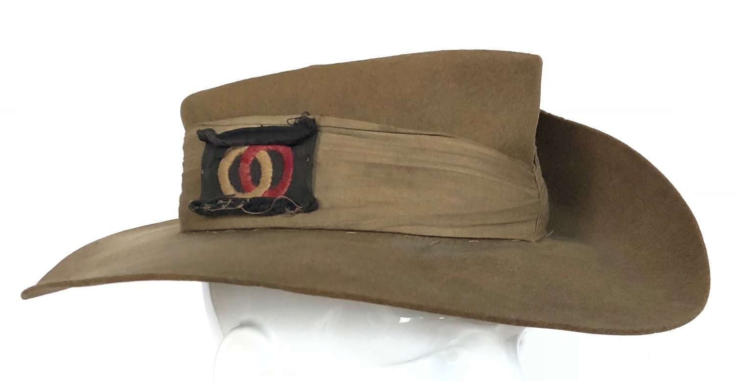 WW2 Period 36th Division Far East Slouch Hat.