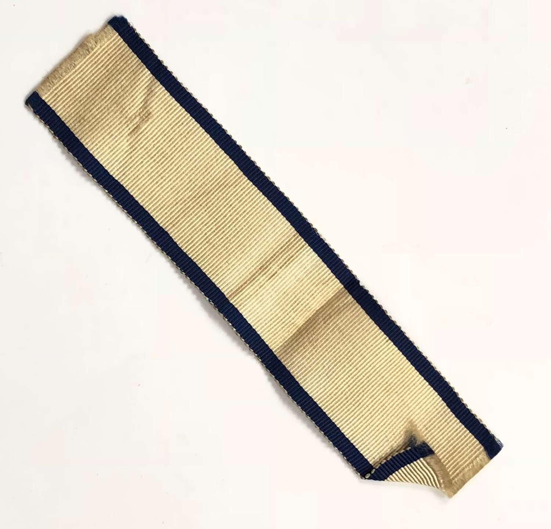 Naval General Service Medal 1847 Original Ribbon.