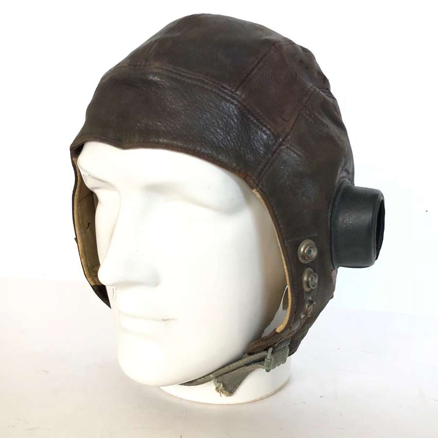 WW2 RAF 2nd Pattern C Type Flying Helmet.