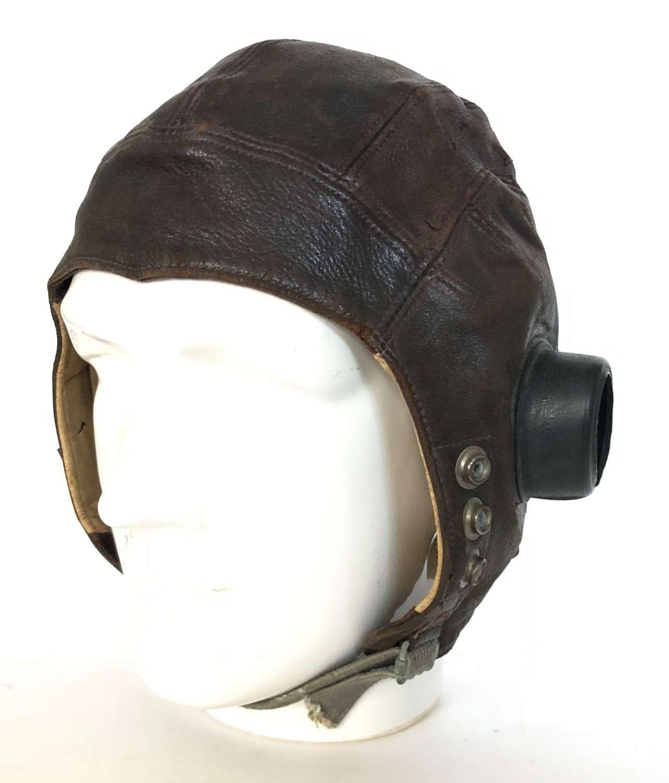WW2 RAF 2nd Pattern C Type Flying Helmet.