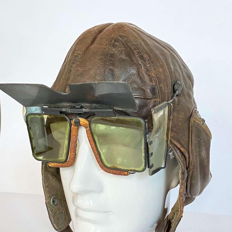 WW2 RAF MKVA Flying Googles.