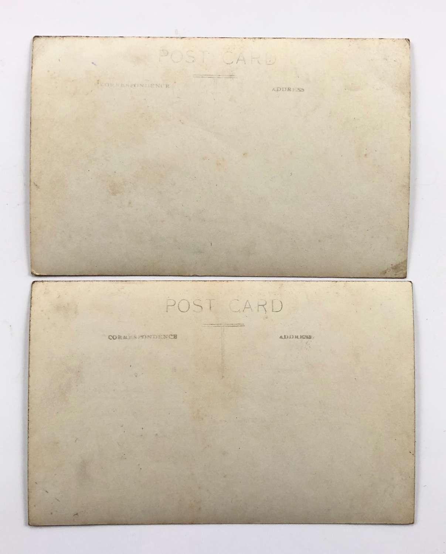 WW1 7th Bn Cameronians Original Postcards.