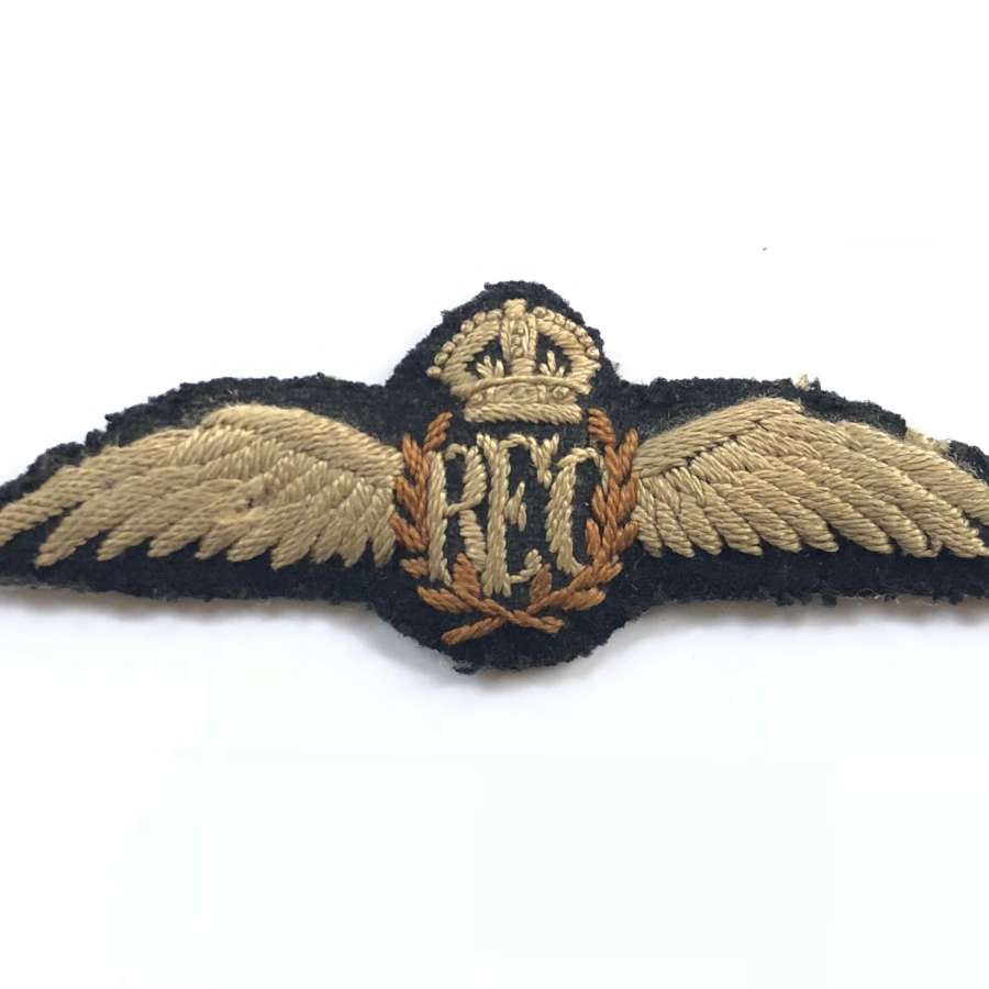 WW1 Royal Flying Corps Attributed Pilots Wings.