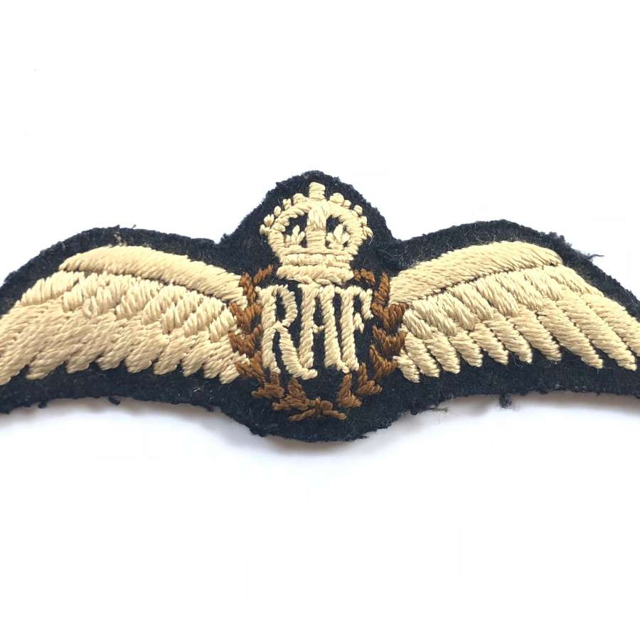 RAF Inter War Period Attributed Pilots Wings.