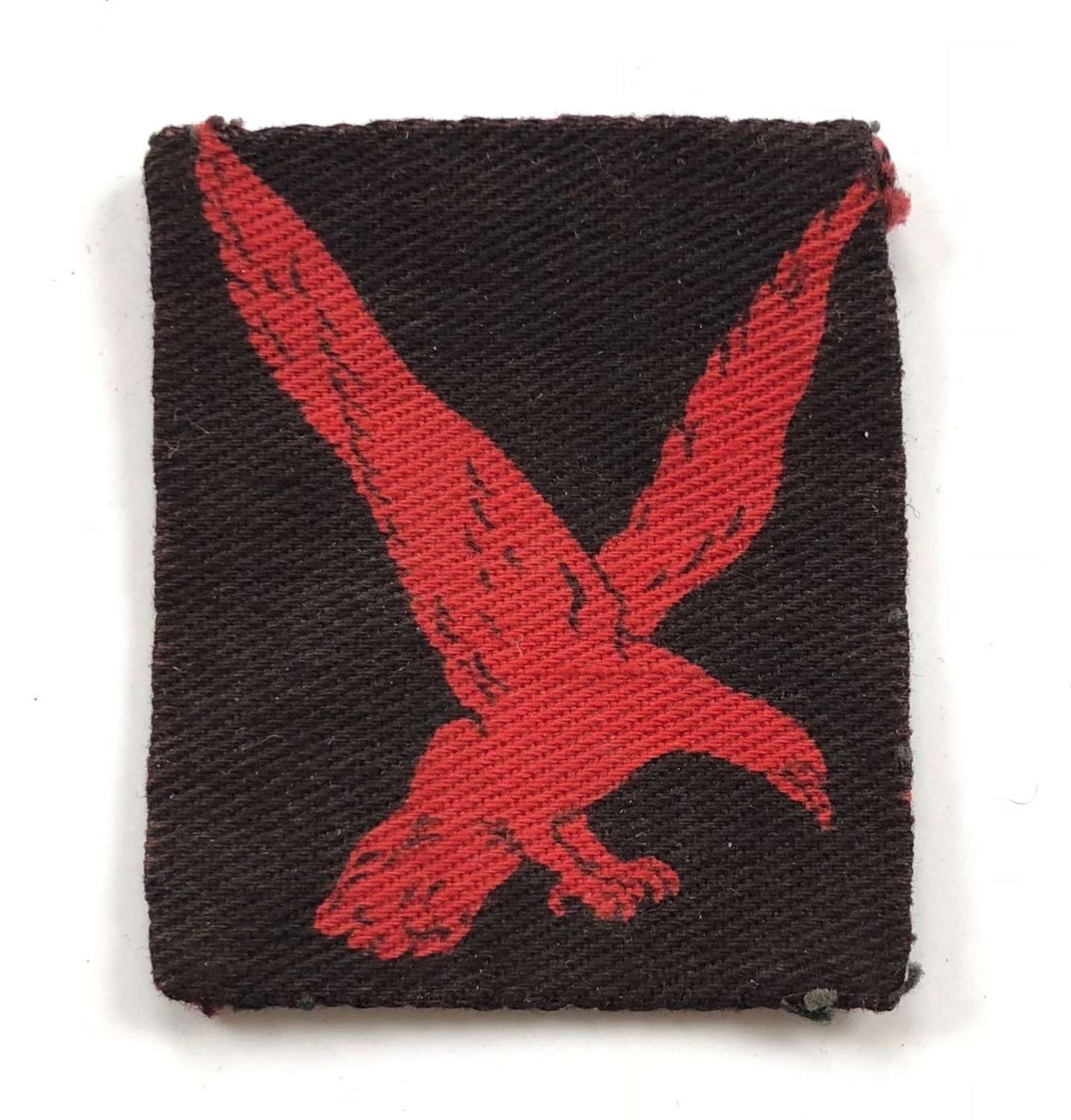 WW2 4th Indian Division Printed Formation Badge