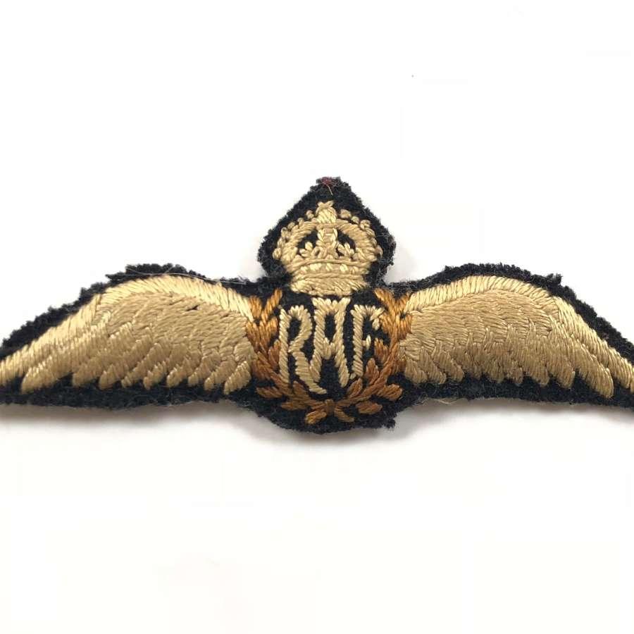 RAF Interwar Period Pilot Wings.