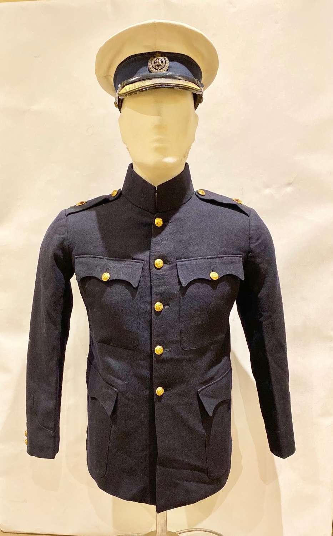 WW1 1914 Royal Engineers Undress Officer's Uniform & Cap.