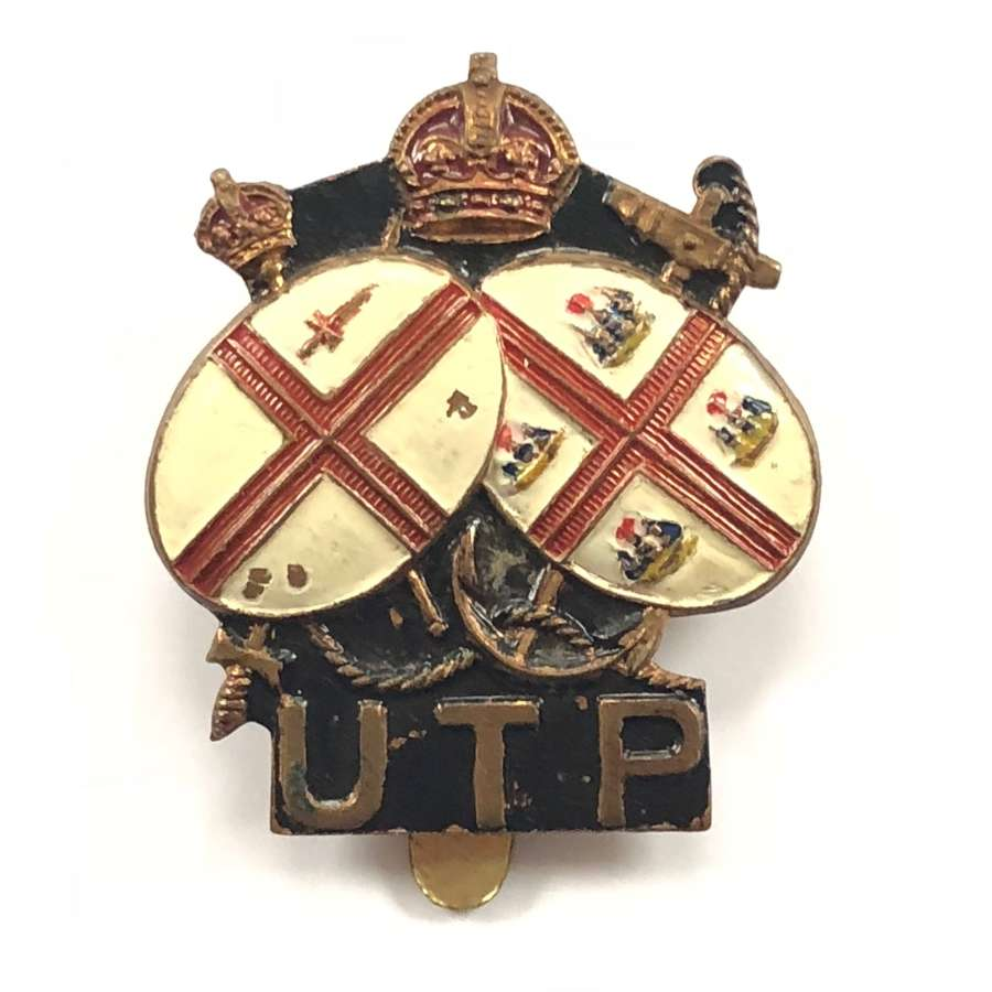 WW2 Home Guard Upper Thames Patrol Cap Badge.