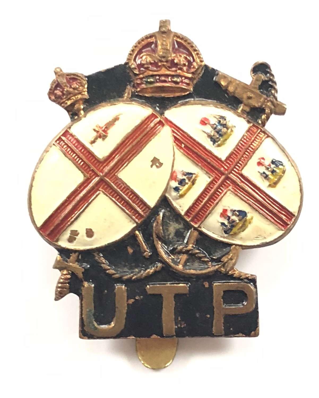 WW2 Home Guard Upper Thames Patrol Cap Badge.