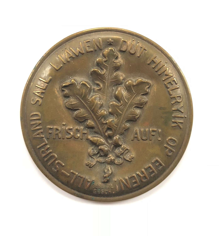 WW2 German Fund Raising Mirror.