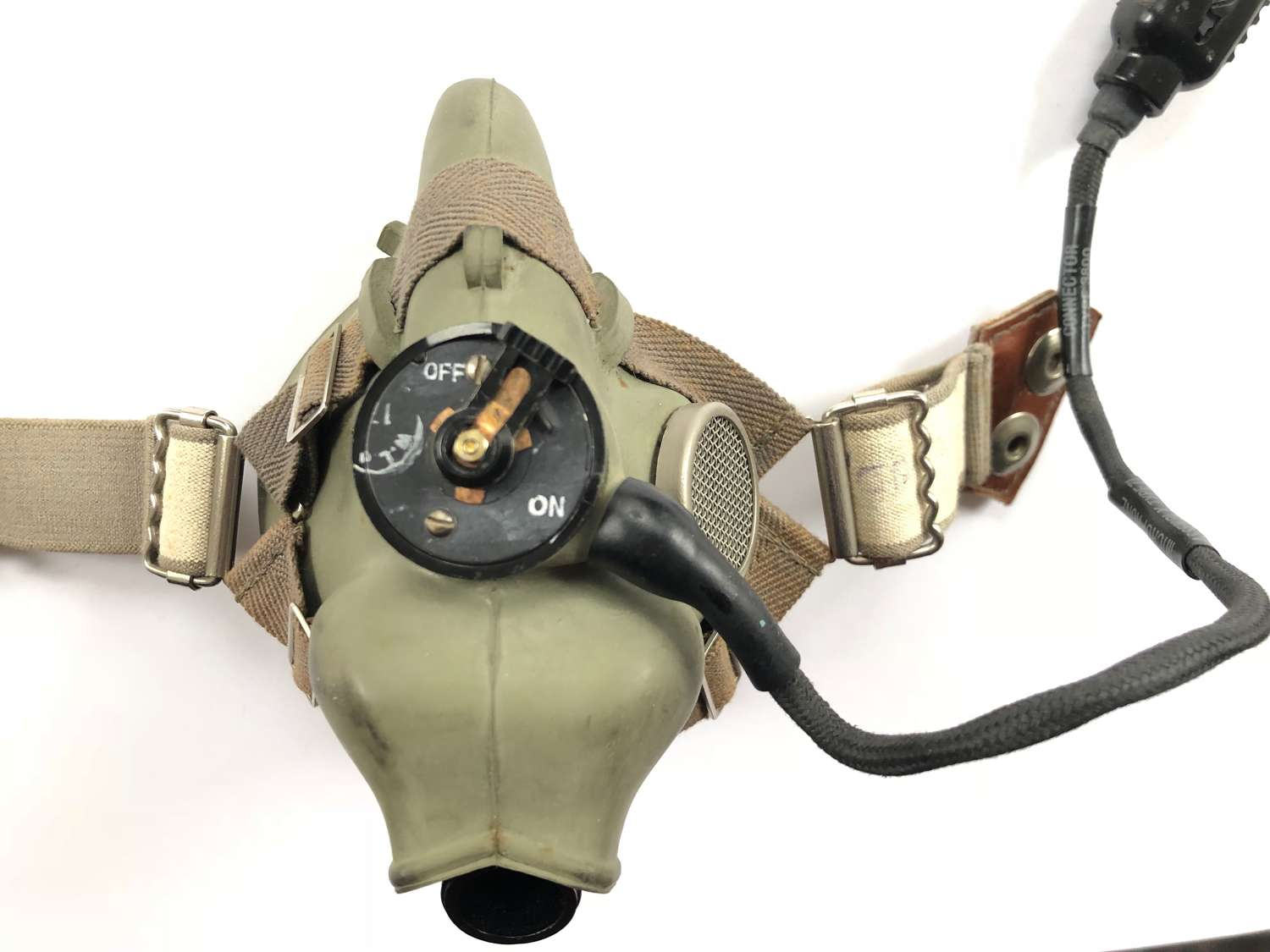 RAF WW2 / Cold War Pattern H Type Oxygen Mask.