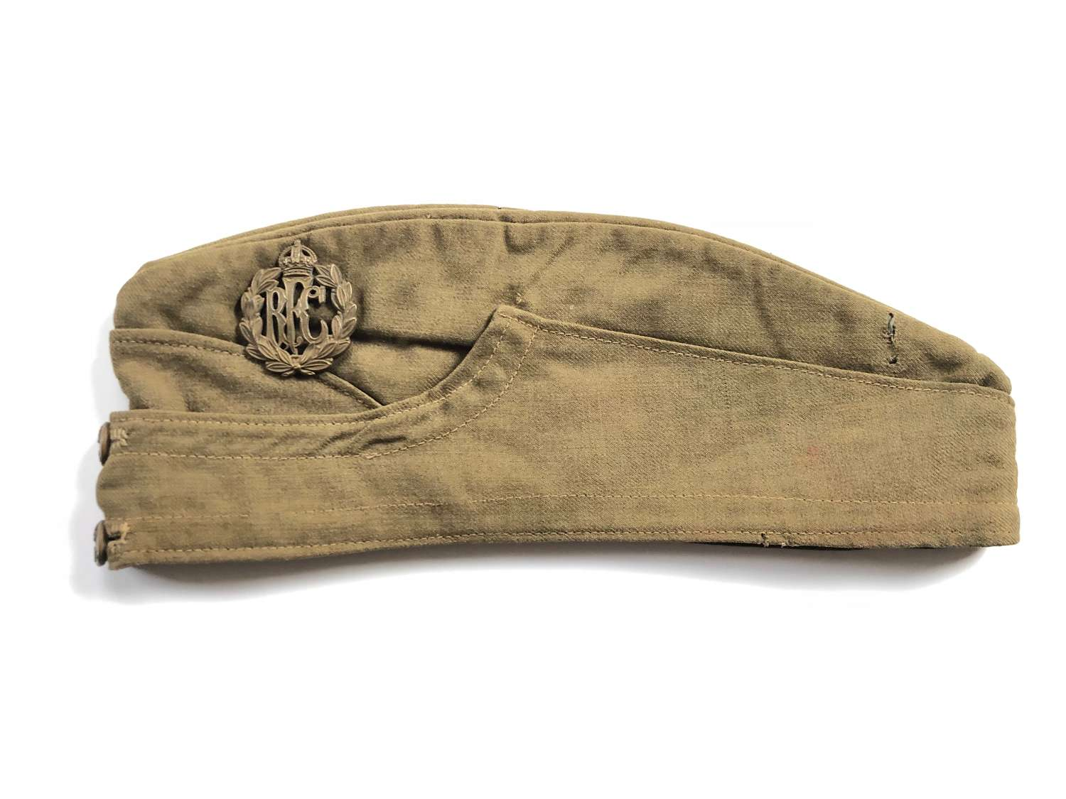 WW1 Royal Flying Corps Officer's Side Cap.