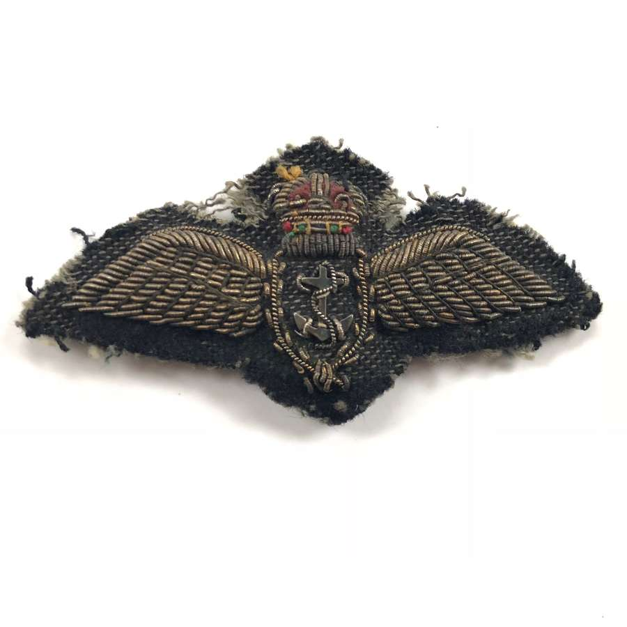 WW2 Period Fleet Air Arm Full Size Pilot Wings.