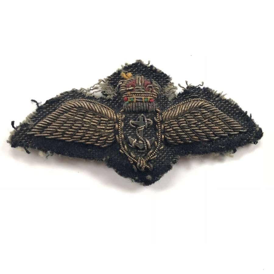 WW2 Period Fleet Air Arm Full Size Pilot Wings.